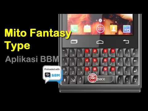 Mito Fantasy Type A350 Hp Android QWERTY Cocok BBM-an Harga 800ribu