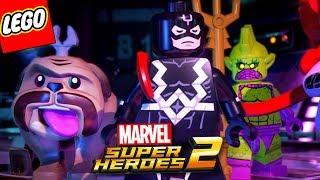 LEGO Marvel Super Heroes 2 PT BR #16 - TIME RAIO NEGRO E INUMANOS (DUBLADO EM PORTUGUÊS HAGAZO)