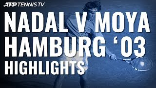 16-year-old Rafael Nadal beats Carlos Moya at Hamburg 2003
