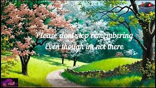 PLEASE DON'T STOP REMEMBERING w/ lyrics by: Randy Edelman