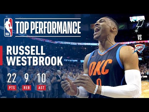 Russell Westbrook Leads The Thunder to a Win | December 3, 2017