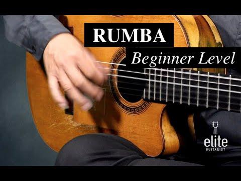 EliteGuitarist.com - Rumba for Beginners Flamenco Guitar Lessons - Jose Tanaka Rumba 1/4