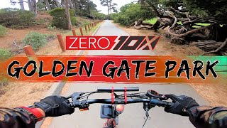 Zero 10x PEV Explores Golden Gate Park in San Francisco | GoPro Hero 7 RAW FPV Bodycam