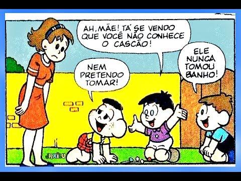 Cascão - A má influência - quadrinhos Turma da Mônica