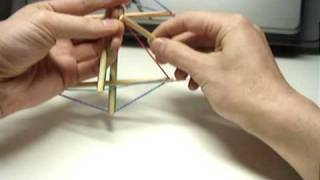 """Tensegrity"" from tensional integrity. 張力の統合"