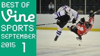 Best Sport Vines Special | Ice Hockey Hits September 2015 Week 1