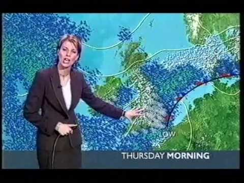 BBC Weather 23rd February 2005: Snow Showers