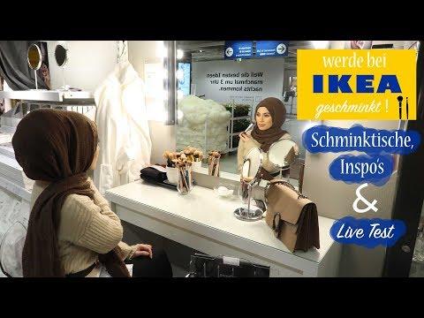 Werde bei IKEA ESSEN geschminkt ! - Schminktische , Inspirationen & Live Test
