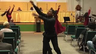 "NDBC Praise Dance - ""Rain on Us"" by Earnest Pugh"