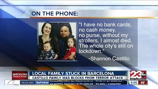Bakersfield family stuck in Barcelona following terrorist attacks
