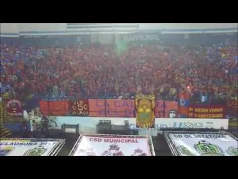 """Lindo video de la final Rojos Guastatoya"" Barra: La Banda del Rojo • Club: Municipal"