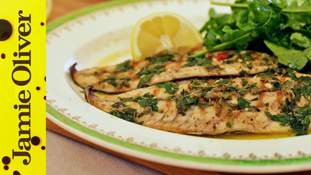 Lemon Butter Sauce For Fish Jamie Oliver