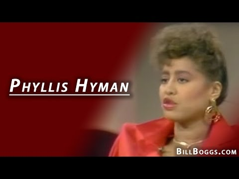 Phyllis Hyman Is Interviewed By Bill Boggs