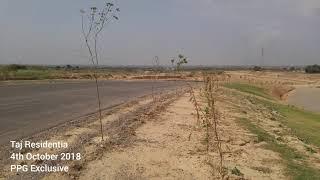 Latest Development Progress at Different Blocks in Taj Residencia Islamabad