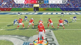 MADDEN 20 PRO BOWL GAMEPLAY! PATRICK MAHOMES IS NASTY! (AFC vs NFC)