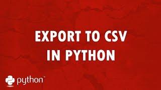 Where to save csv file python