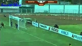 Great Goal James Koko Lomell  Barito Putera Vs Arema Cronus  ISL 2014