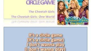08 Circle Game - Official Karaoke /Instrumental (Lyrics)