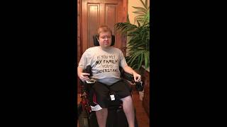 Wheelchair Stretching: Elbow and Hand