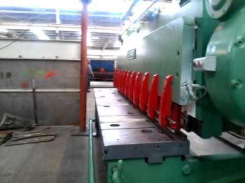 Venta de cizallas cincinnati mecánicas e hidráulicas