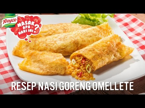 Video Resep Nasi Goreng Omellete