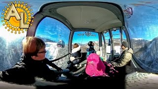 Видео 360 градусов Сочи 🇷🇺 Подъёмник Роза Хутор Sochi Rosa Khutor