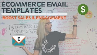 8 ECommerce Email Templates To Boost Sales & Engagement