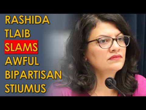 Rashida Tlaib SLAMS Awful 'Bipartisan' Senate Stimulus Plan that Sells out working Class