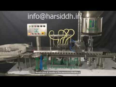 Automatic Liquid Vial Filling Machine