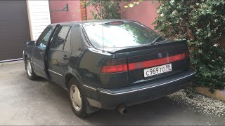 Saab 9000, который я купил в Санкт-Петербурге