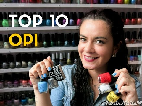 Top 10 esmaltes OPI - AdrixNails