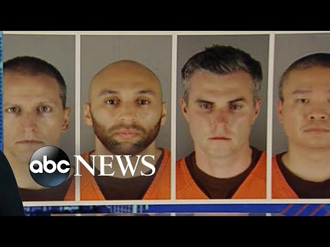 ABC News Live Update: Former officers charged with violating George Floyd's rights