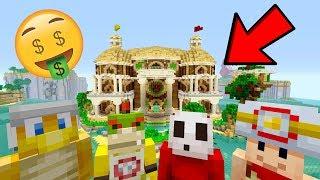 12 MILLION Dollar Fun House!?! [WE BOUGHT IT!] - Nintendo Fun House - (Minecraft Switch) [230]