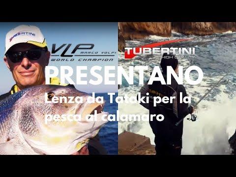 Lenza Per la Pesca ai Calamari con Tataki | Marco Volpi