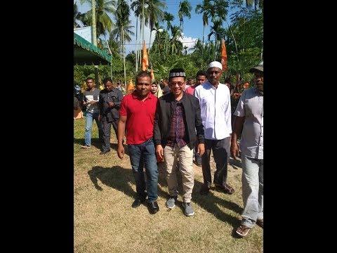 Viral, orasi Politik Dedi Safrizal ; Menangkan Partai Lokal pada Pemilu 2019