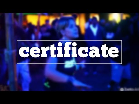 How do you spell certificate? - YouTube