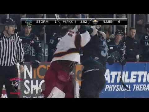 Peter Di Salvo vs. Storm Phaneuf