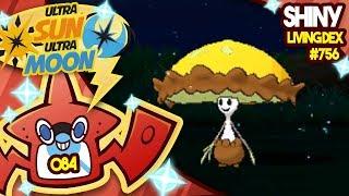 Shiinotic  - (Pokémon) - MY LUCK IS UNREAL! SHINY SHIINOTIC! Quest for Shiny Living Dex #756 USUM Shiny 84