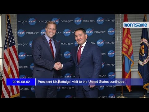 President Kh.Battulga' visit to the United States continues
