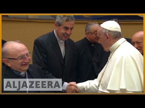 🇻🇦 🇨🇱 Pope Francis accepts resignation of three Chilean bishops | Al Jazeera English