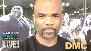 DMC drops in on Marvel LIVE!