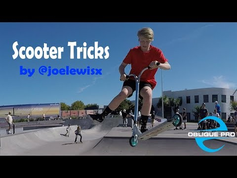 Scooter Tricks by @joelewisx