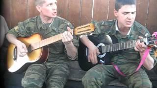 Целуйте бабы рельсы - Солдатская песня под гитару