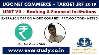 Complete Overview   Banking and Financial Institutions  UGC NET Commerce