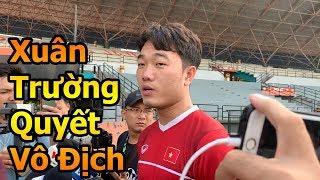 Thử Thách Bóng Đá DKP đi xem Lương Xuân Trường ĐT Việt Nam quyết vô địch AFF CUP 2018 tại Malaysia