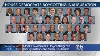 Growing Number Of Democratic Members Of Congress Boycotting Inauguration