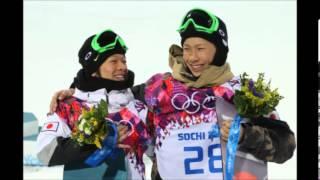 ソチ五輪男子HP平野歩夢が銀メダル平岡卓が銅メダルを獲得
