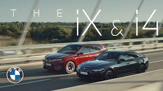 [오피셜] The power of action. The first-ever BMW iX and the first-ever BMW i4.