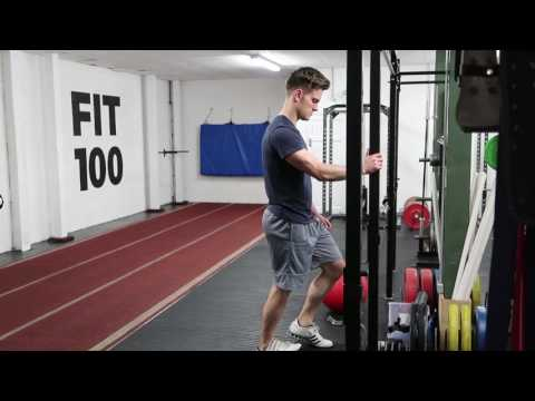 Single Leg Calf Raise Assisted
