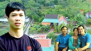 Thăm nhà Công Phượng để hiểu vì sao Phượng xăm ngôi nhà lên da thịt | Vlog Minh Hải